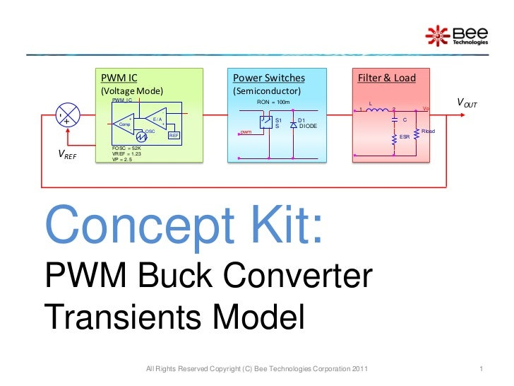 PWM IC                                    Power Switches                       Filter & Load       (Voltage Mode)         ...