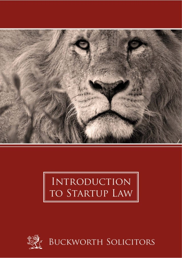 Introductionto Startup Law