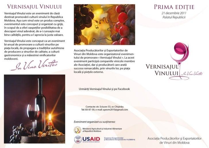 Vernisajul Vinului 2011