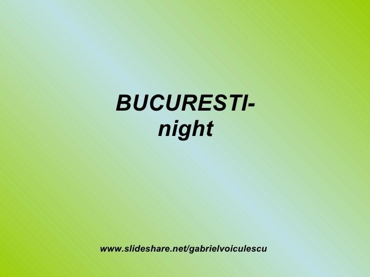 Bucuresti