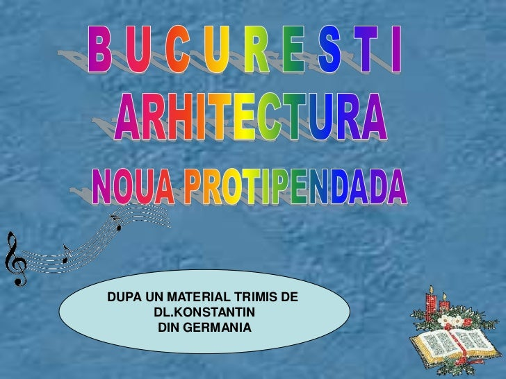 Bucuresti arhitectura