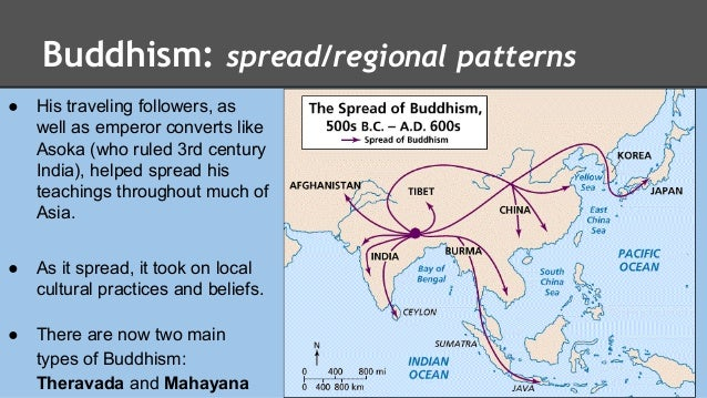 Spread of Buddhism in Asia