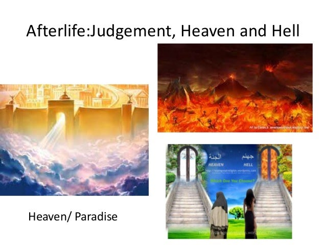 an analysis of the concept of hell in christianity islam and buddhism Contrast paganism, buddhism, hinduism,  paganism, hinduism, zoroastrianism, buddhism, judaism, christianity, and.