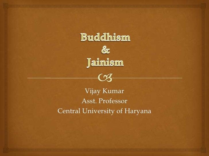 Buddhism & jainism