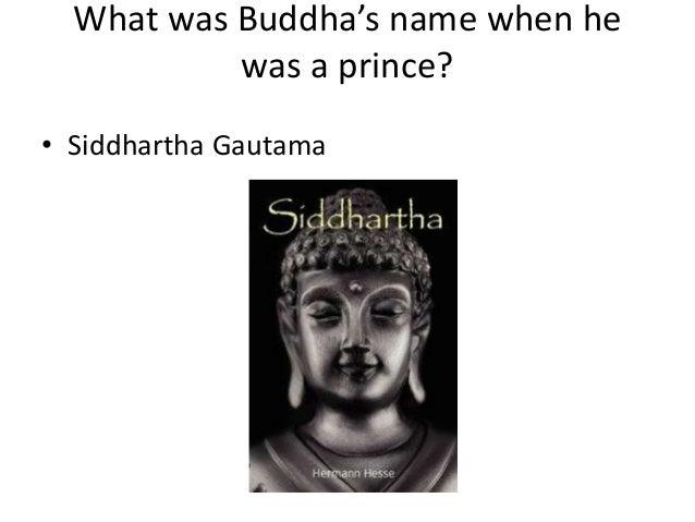 Buddhism trivia