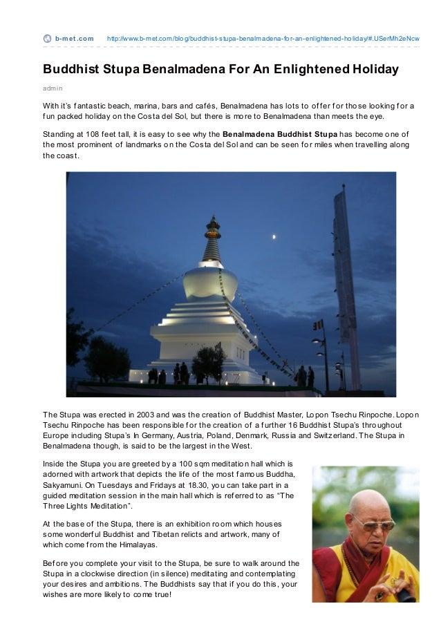 b-m e t .co m   http://www.b-met.co m/blo g/buddhist-stupa-benalmadena-fo r-an-enlightened-ho liday/#.USerMh2eNcwBuddhist ...