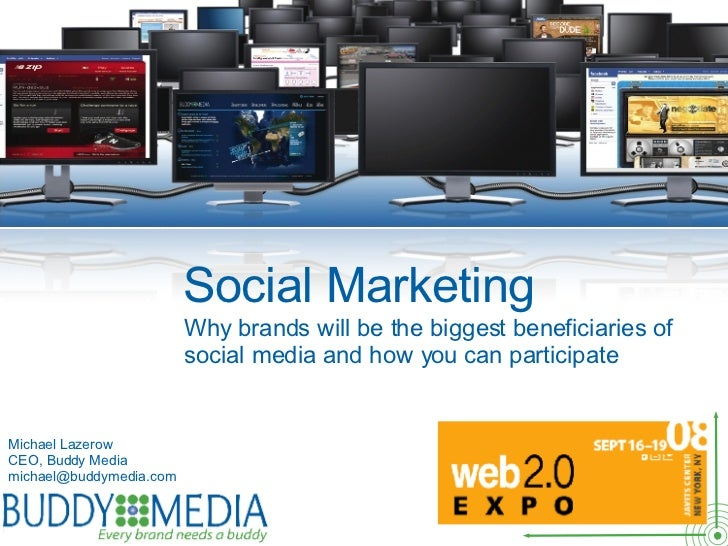 Social Brand Marketing For Web 2.0