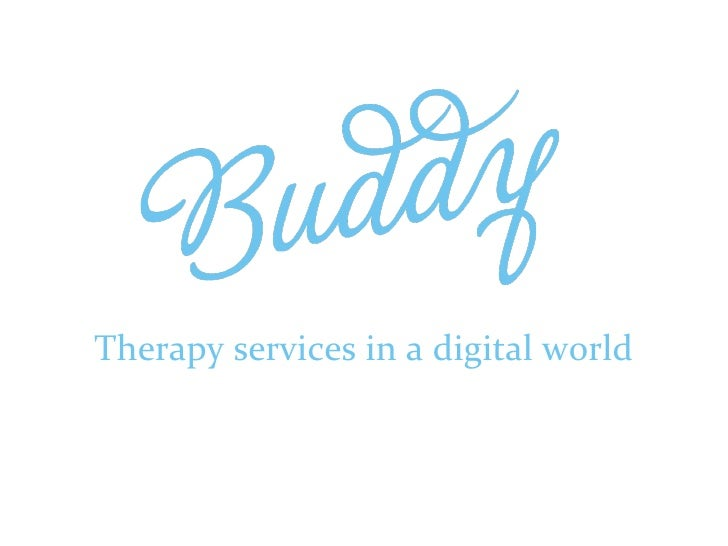 Therapy services in a digital world