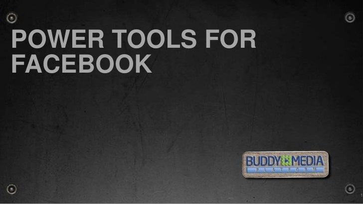 Power tools for Facebook<br />1<br />