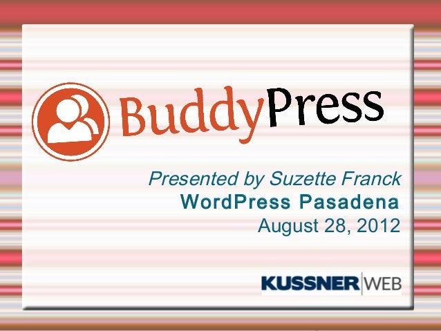 Buddypress Pasadena Meetup
