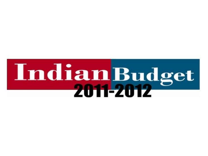 Budget Presentation