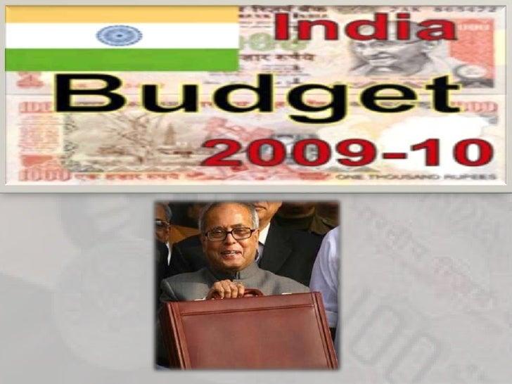 Budget 2009 10