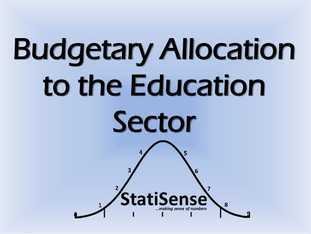 Budgetary Allocation to the Education Sector