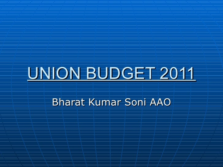 Budget changes  2011 12