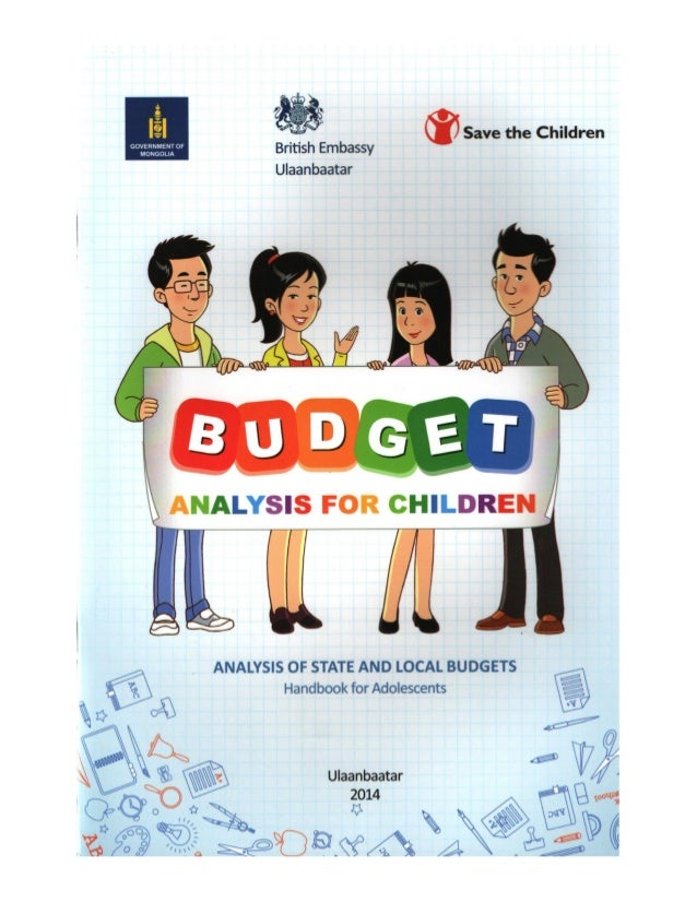 Budget Analysis for Children. Analysis of State and Local Budgets. Handbook for Adolescents