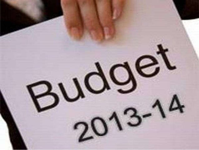 Budget highlight 2013-14