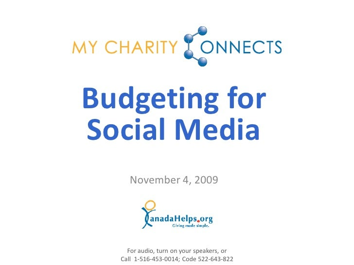 Budgeting For Social Media