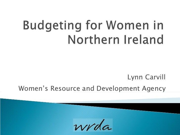 Lynn Carvill Women's Resource and Development Agency