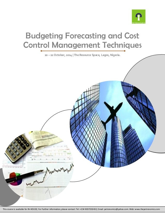 forecasting and cost How to make revenue forecasts quarterly and annual budget for fixed overheads and variable costs revenue forecasting means you can use historical data to step back and take an objective look at the market, taking into account its seasonal peaks.