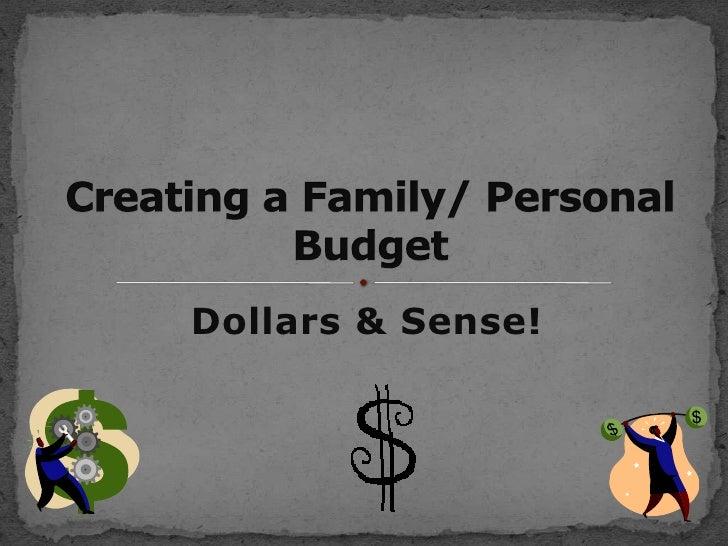 Dollars & Sense!