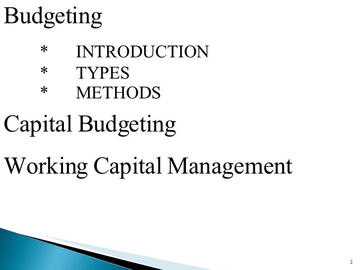 capital budgeting decision making tools essay Capital budgeting decisions tools in many businesses, growth is a major factor to business success substantial growth in sales may eventually means a.
