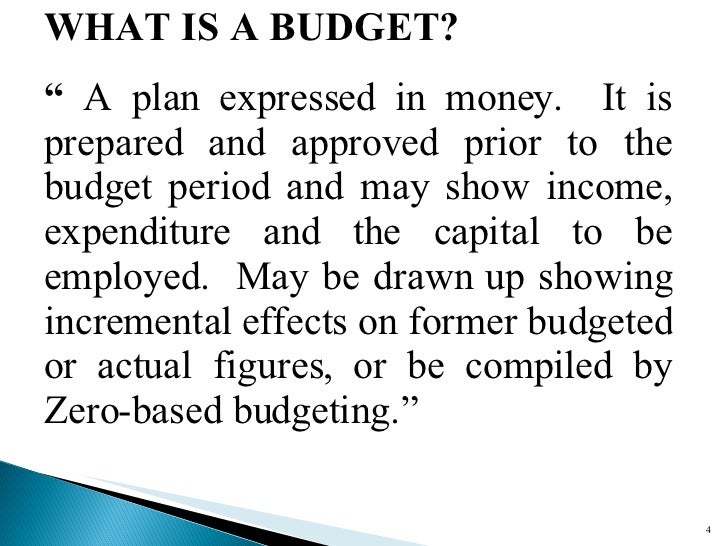 family budgets