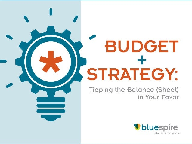 Welcome Today's presentation is brought to you by BlueSpire Strategic Marketing.