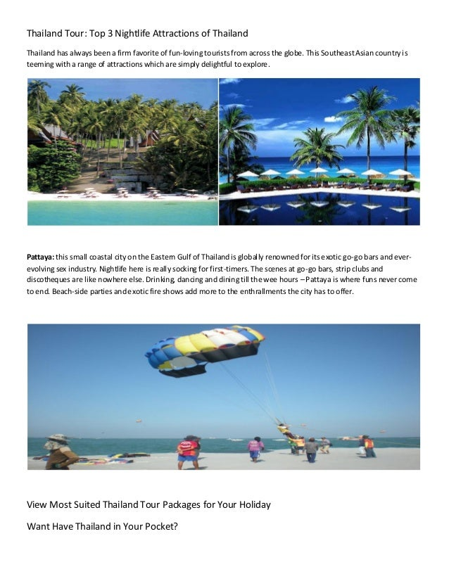 Budget thailand tour packages