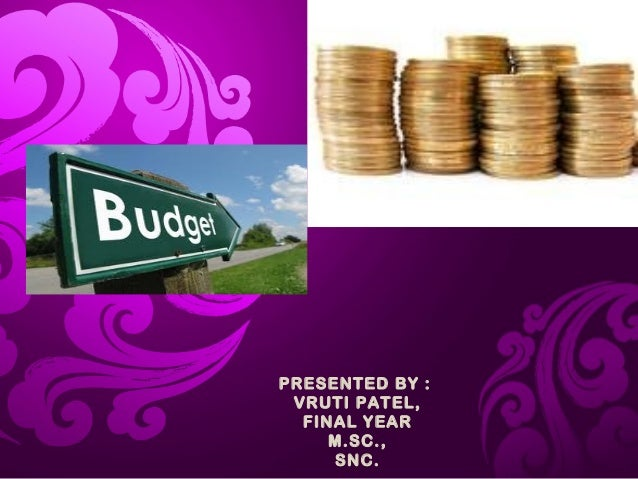 Budget and financialaudit