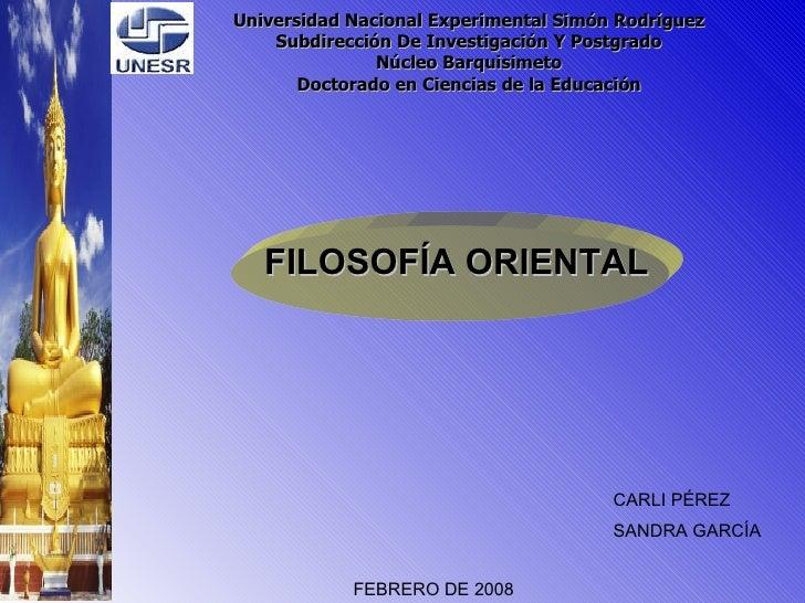 Universidad Nacional Experimental Simón Rodríguez Subdirección De Investigación Y Postgrado Núcleo Barquisimeto Doctorado ...