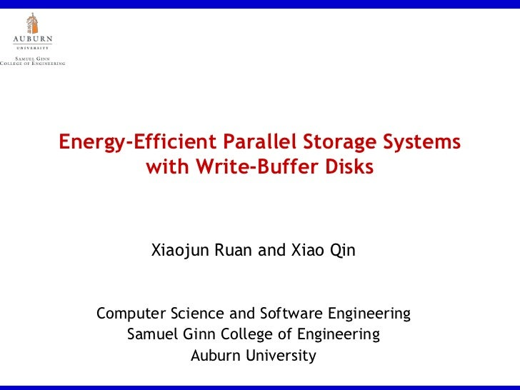 BUDW: Energy-Efficient Parallel Storage Systems with Write-Buffer Disks