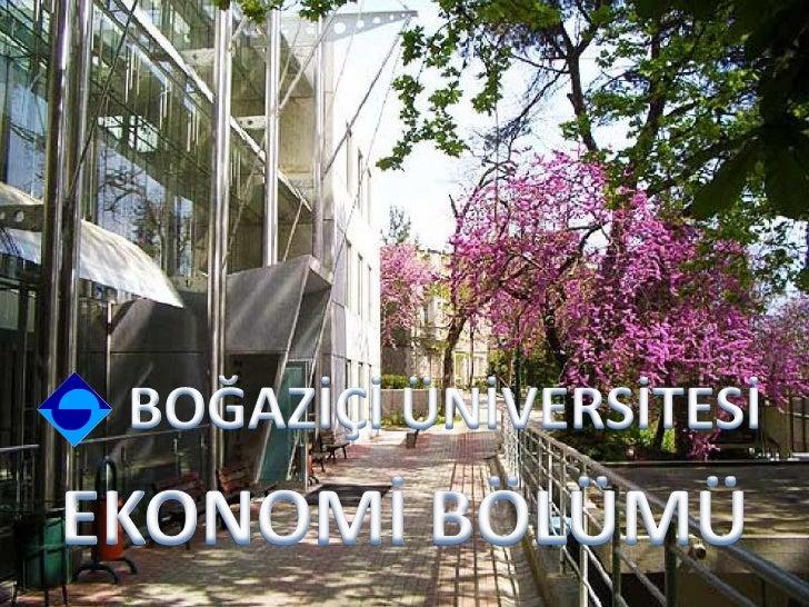 Temel Ekonomi Dersleri• Mikroekonomi           • İktisadi Düşünce• Makroekonomi             Tarihi• Matematiksel          ...