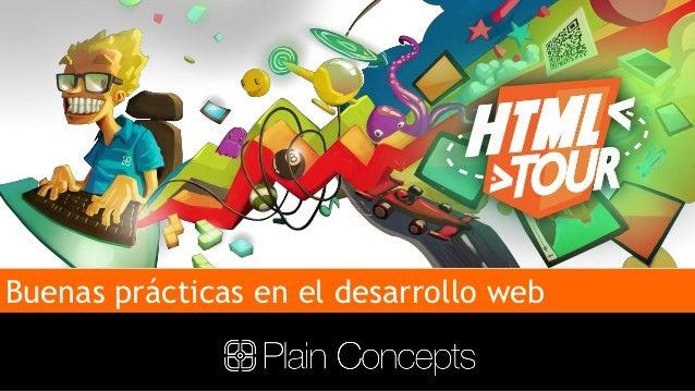 HTML Tour - Buenas prácticas en el desarrollo web