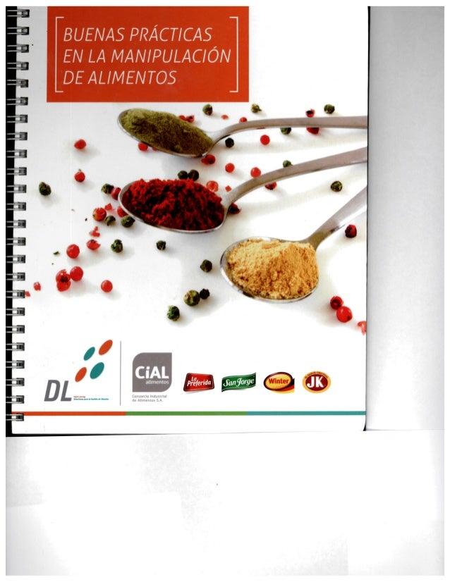 Buenas pr cticas en la manipulaci n de alimentos for Buenas practicas de manipulacion de alimentos