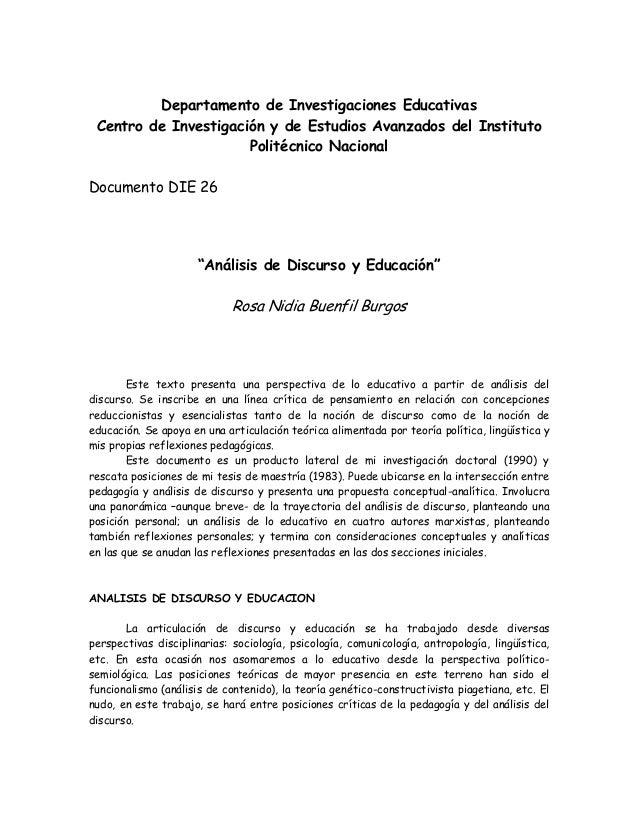 Departamento de Investigaciones EducativasCentro de Investigación y de Estudios Avanzados del InstitutoPolitécnico Naciona...