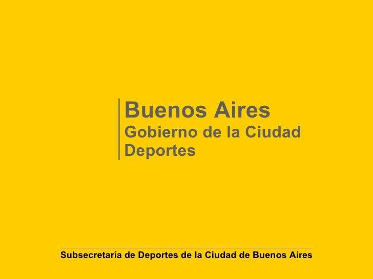 Buenos Aires Deportes
