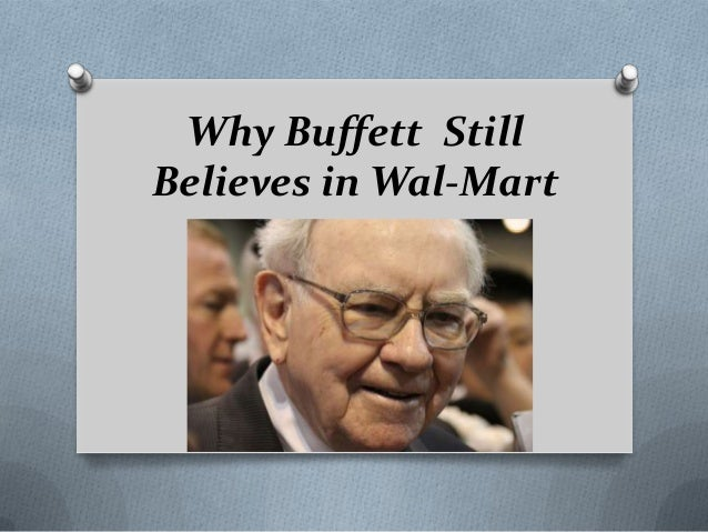 Why Buffett Still Believes in Wal-Mart
