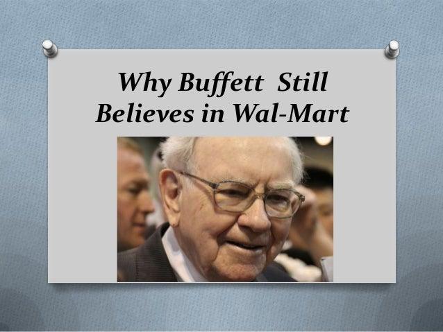 Why Warren Buffett Still Believes in Wal-Mart