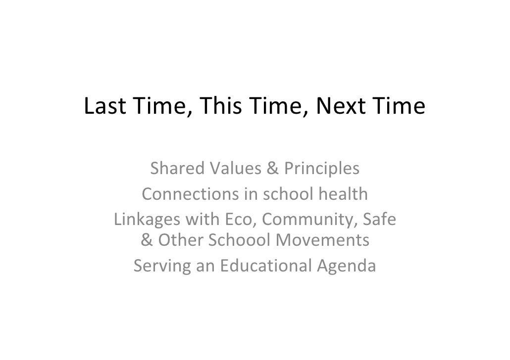 Buiis & mc call links between health, equity & sustainability geneva july 11 2010