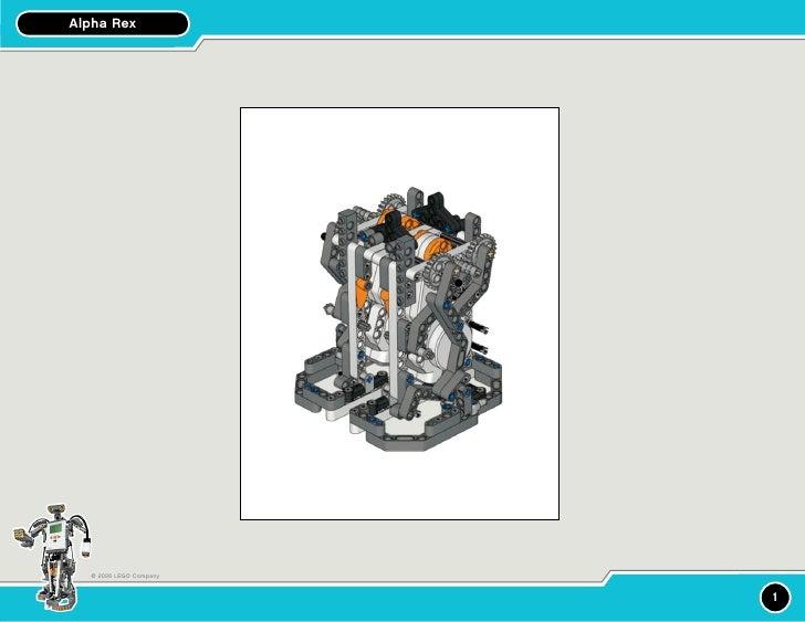 Alpha Rex       © 2006 LEGO Company