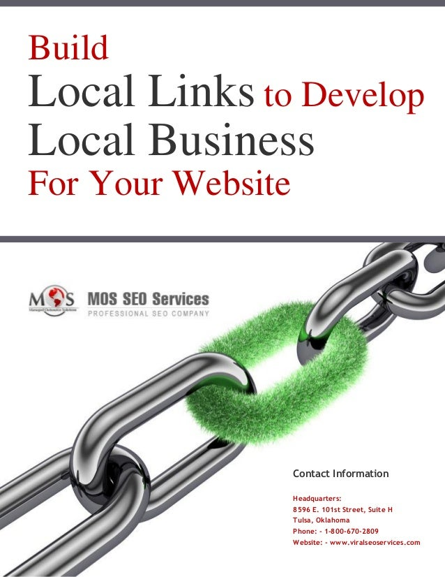 Build Local Links To Develop Local Business For Your Website