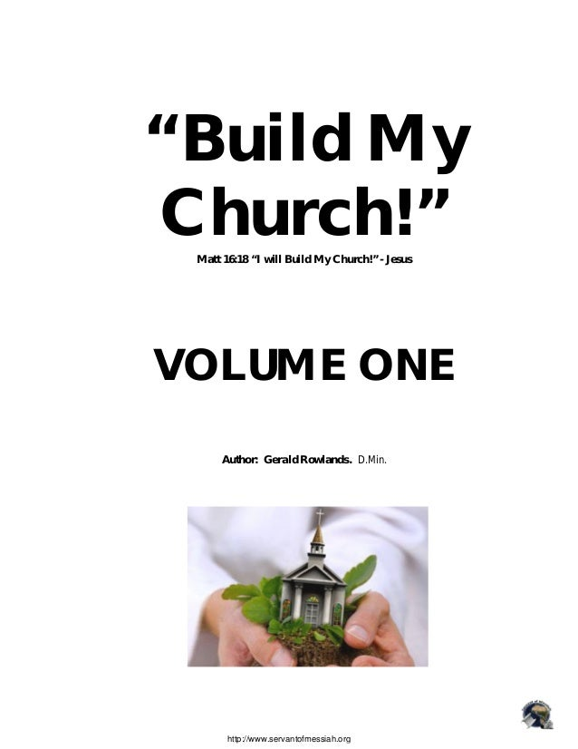 BUILD MY CHURCH_church planting, vol-1 - Gerald Rowlands