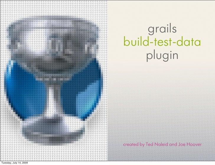 Grails build-test-data Plugin