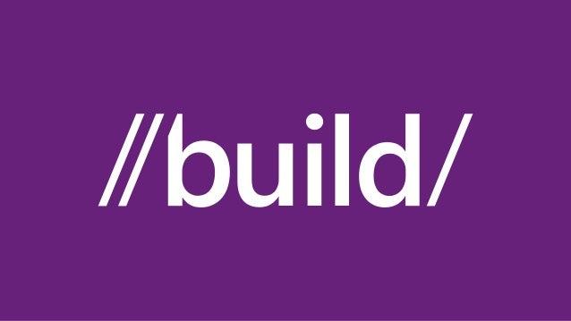 Build 2013 Int'l Press Pre-Briefing TOBrien