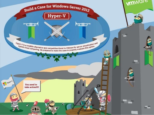 Build a Case for Windows Server 2012 Hyper-V
