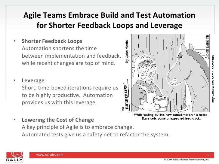 Software Feedback Loop Shorter Feedback Loops And