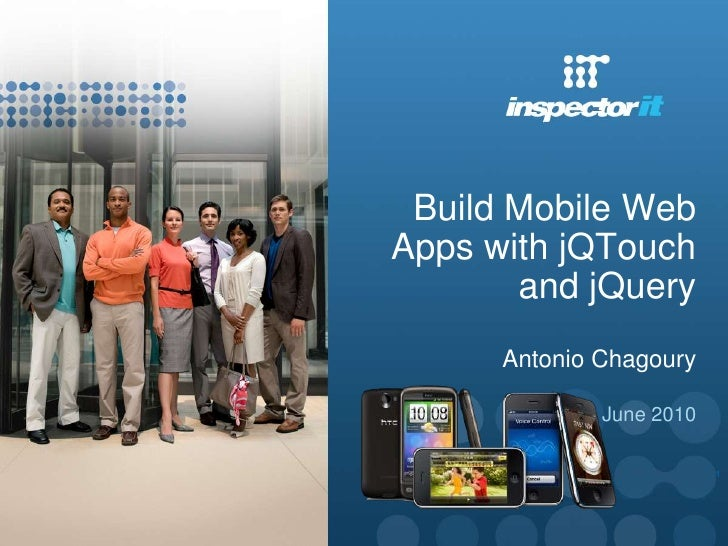 Build an i phone, android, or blackberry web app with jq touch and jquery