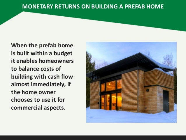 Prefab Homes Cost To Build Images