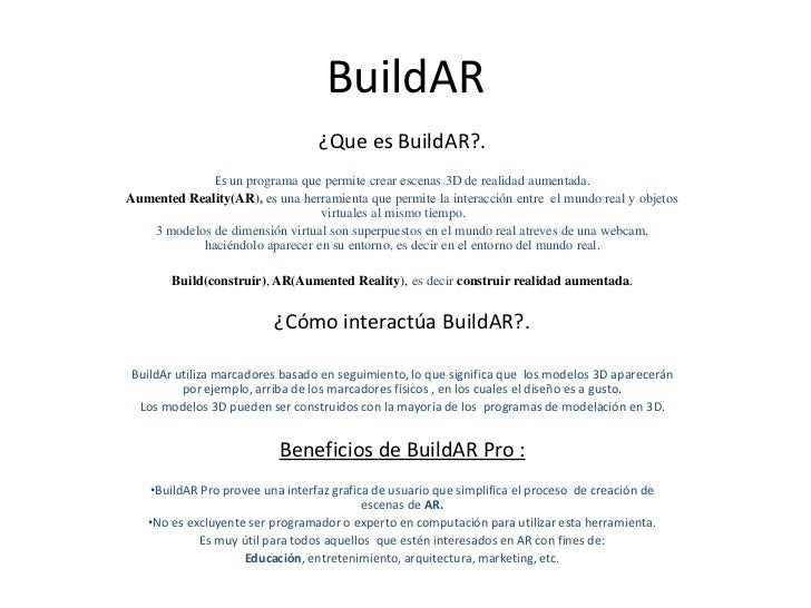 Build ar