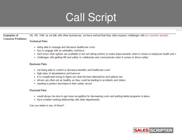Telephone call scripts pictures to pin on pinterest for Cold call script template